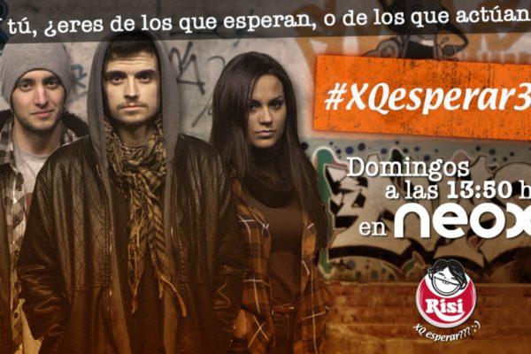 """Exitoso estreno de la tercera temporada de """"XQEsperar"""" en Neox"""