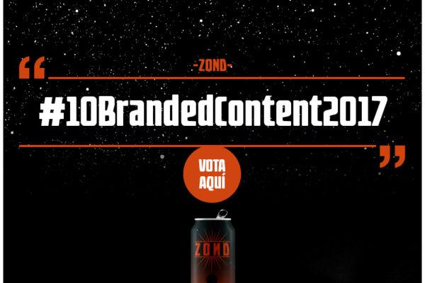 Vota los top #10BrandedContent2017