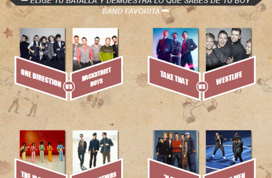 Juego – Battle of the Boy Bands